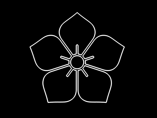 家紋「陰の桔梗」