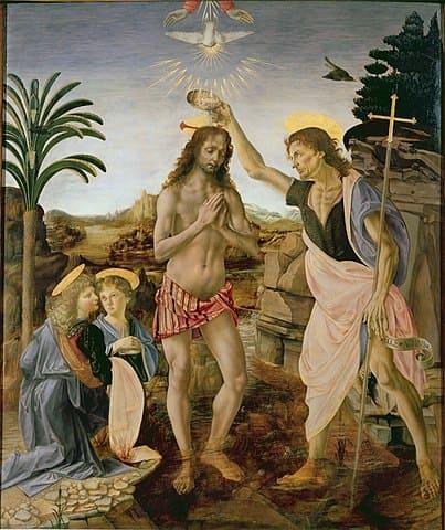 キリストの洗礼 (ヴェロッキオの絵画)