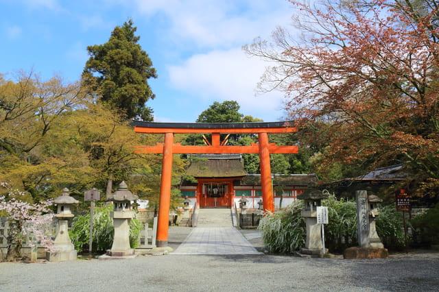 京都 吉田神社の斎場所大元宮