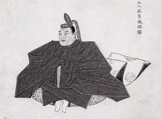 立入宗継の肖像画