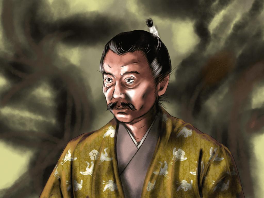 土岐頼芸のイラスト