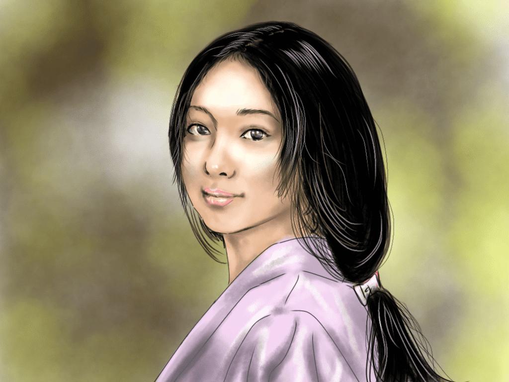 妻木煕子のイラスト