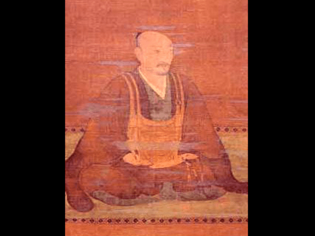 朝倉孝景(英林孝景)の肖像画(心月寺蔵)