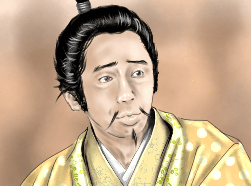 朝倉義景のイラスト(麒麟がくるバージョン)
