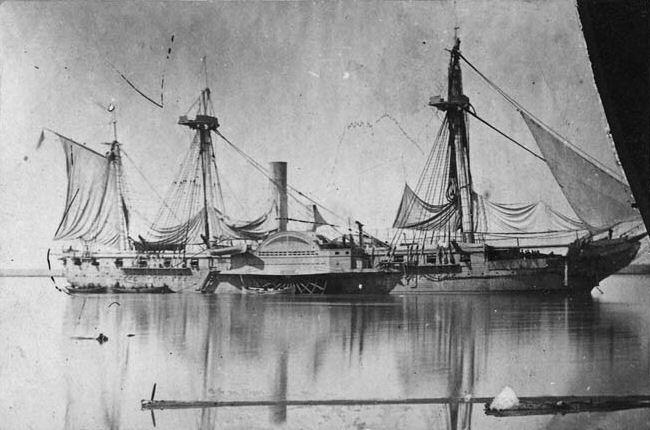 蒸気軍艦・ミシシッピ号