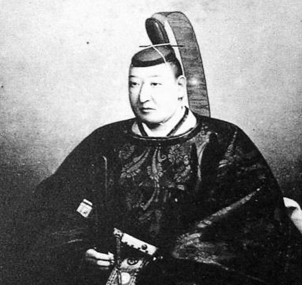 阿部正弘の肖像画(福山誠之館蔵)