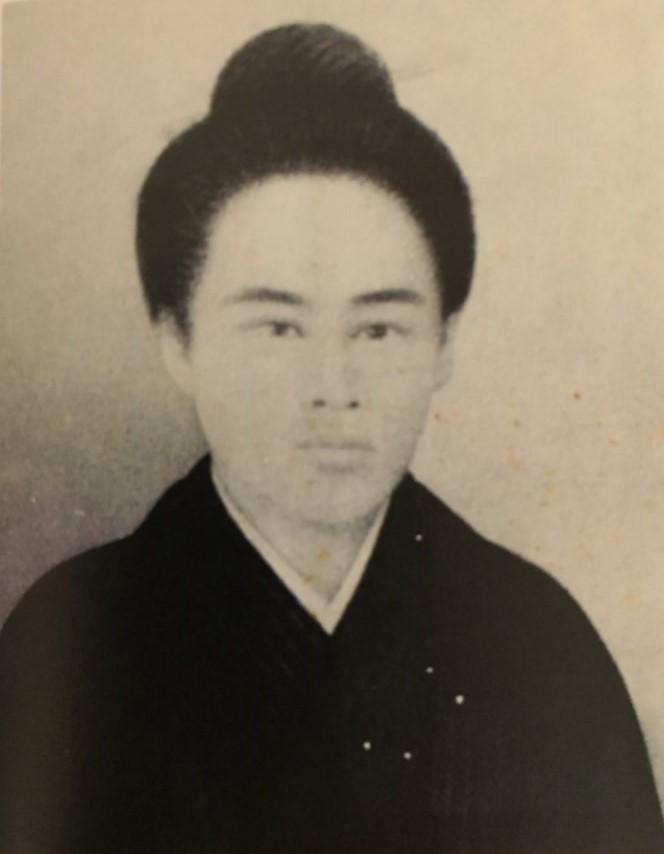 西郷隆盛の妻・愛加那の肖像
