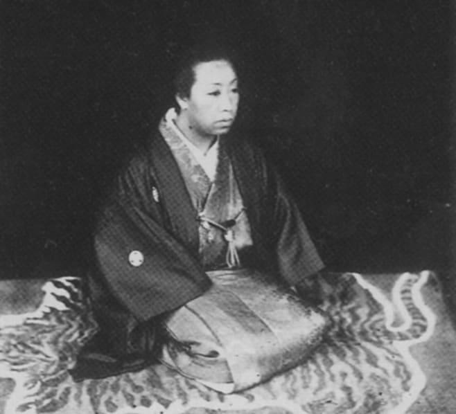 篤姫の肖像写真(尚古集成館 蔵)