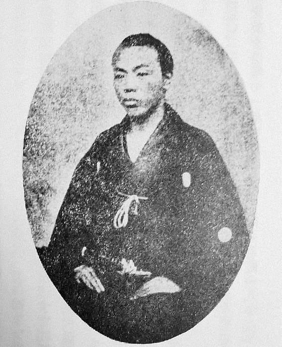 文久2年、29歳頃の江藤新平の肖像
