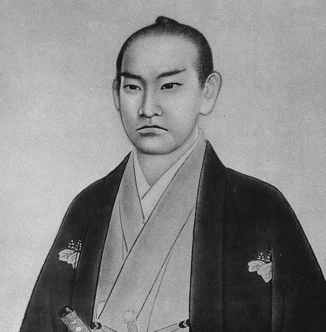 橋本左内の像(福井市立郷土歴史博物館蔵)