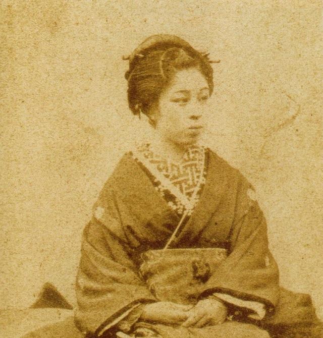 一条美賀子の写真(東京都港区立郷土資料館蔵)