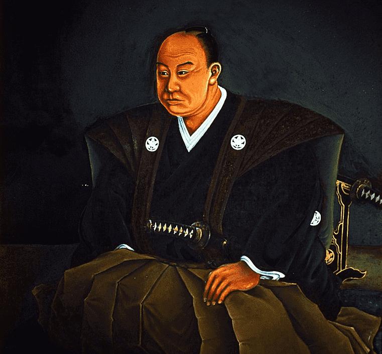 井伊直弼の肖像画(井伊直安 作、豪徳寺 所蔵)