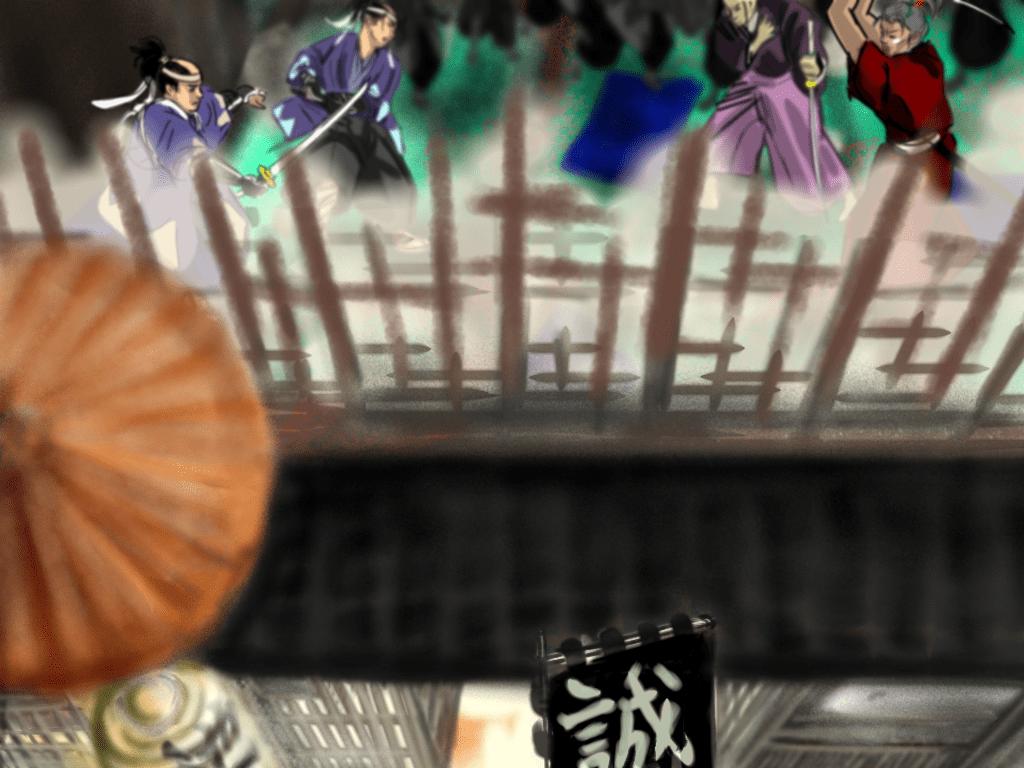 池田屋事件のイラスト