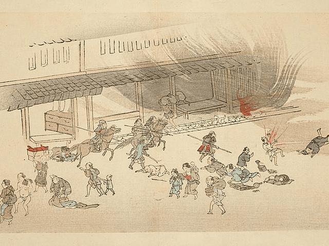 京都御所の御門周辺が激戦地となった禁門の変