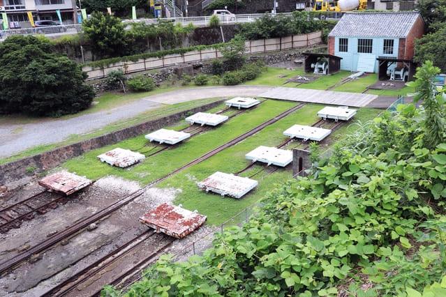 世界遺産にも登録されている小菅修船場跡(長崎県長崎市小菅町)