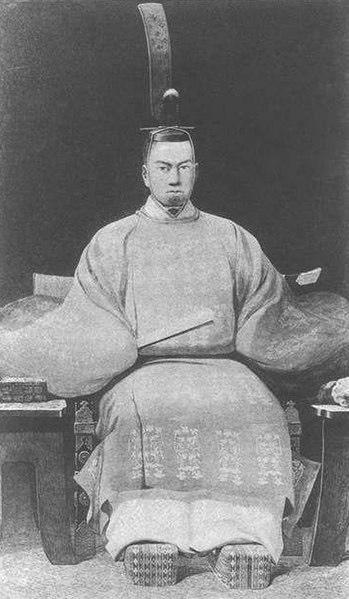 孝明天皇の肖像