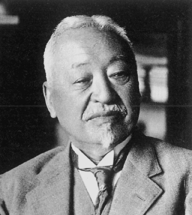 益田孝の肖像