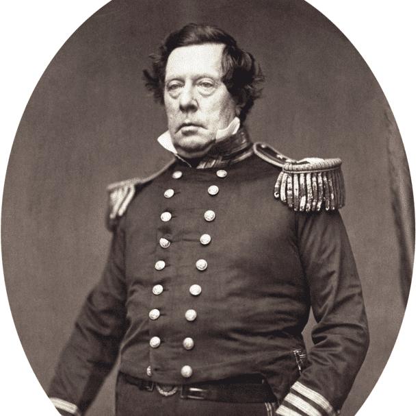 マシュー・カルブレイス・ペリーの肖像写真