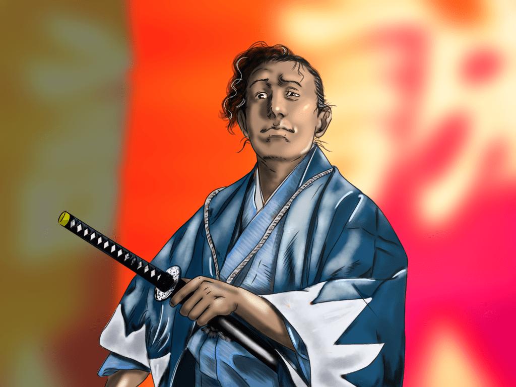 永倉新八のイラスト