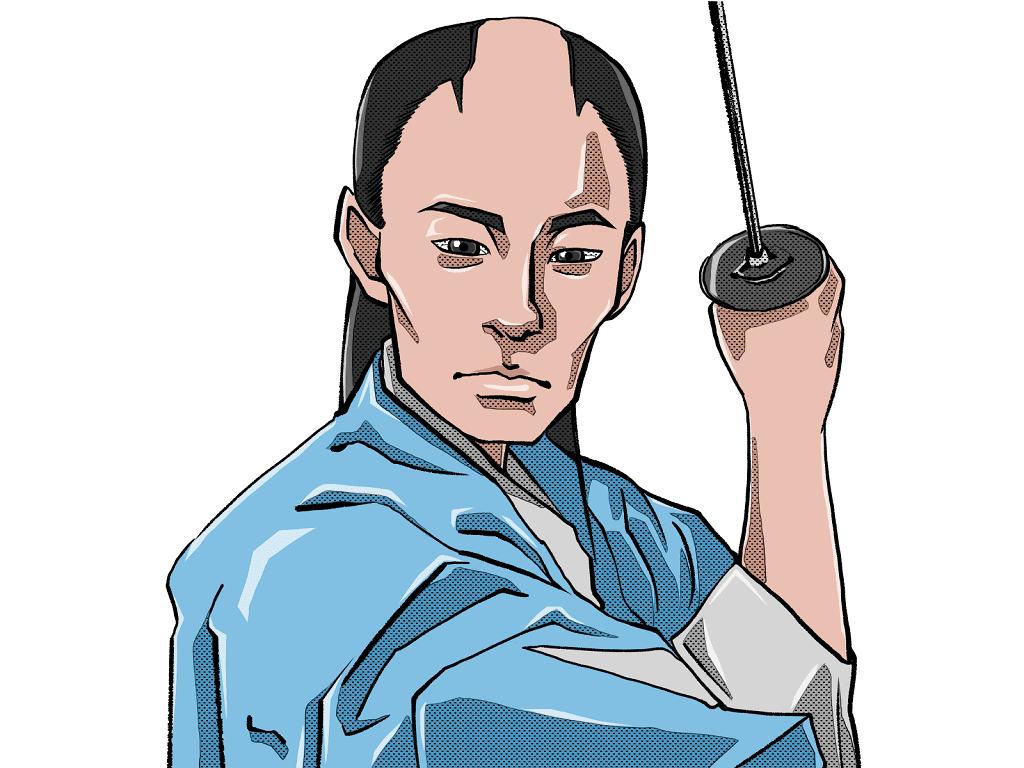 沖田総司のイラスト