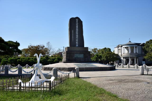 ペリー上陸記念碑(神奈川県横須賀市久里浜)