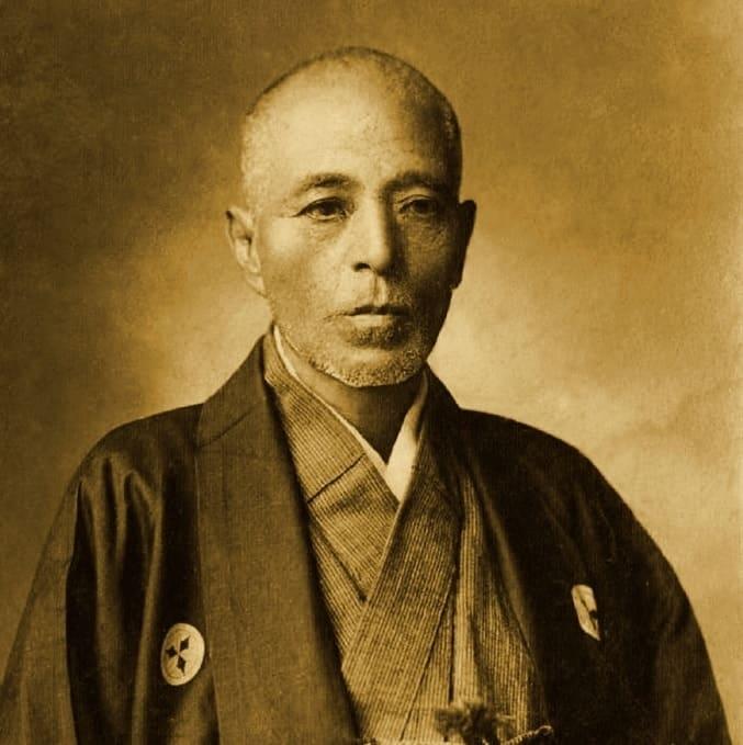 斎藤一の肖像写真(当時数え54歳)