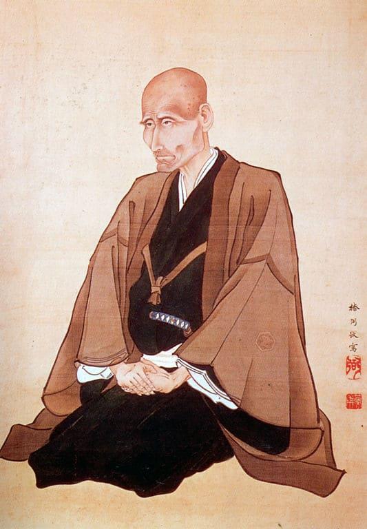 高野長英の肖像(椿椿山 作 、奥州市立高野長英記念館 蔵)