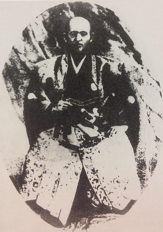 幕臣、浦賀奉行の戸田氏栄の肖像写真