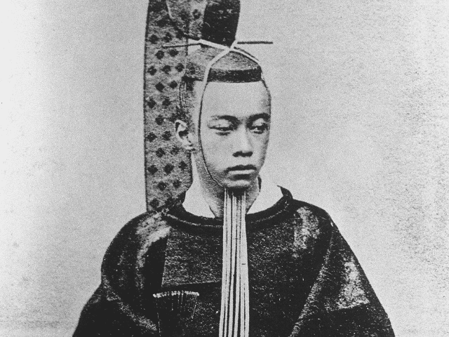 徳川昭武の肖像(『近世名士写真 其2』より)