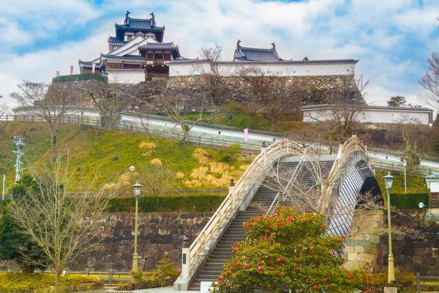 現在は福知山城公園として整備・復元された福知山城
