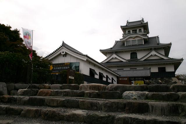 長浜城模擬天守(長浜城歴史博物館)