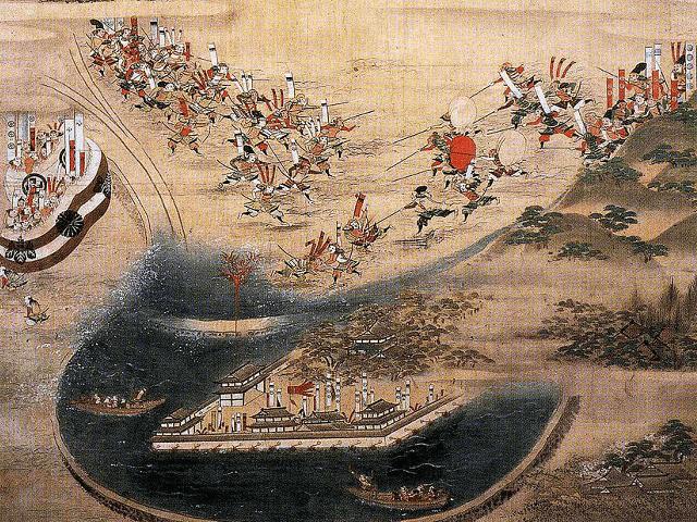 日本三大水攻めとは、備中高松城と忍城、残り一つは?