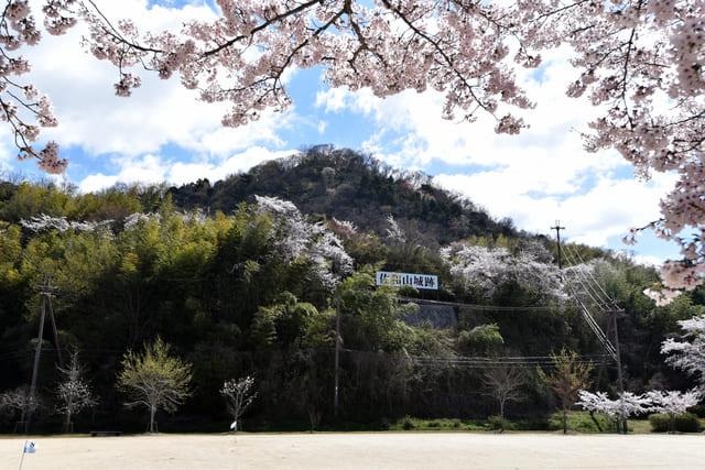 滋賀県彦根市の佐和山城跡