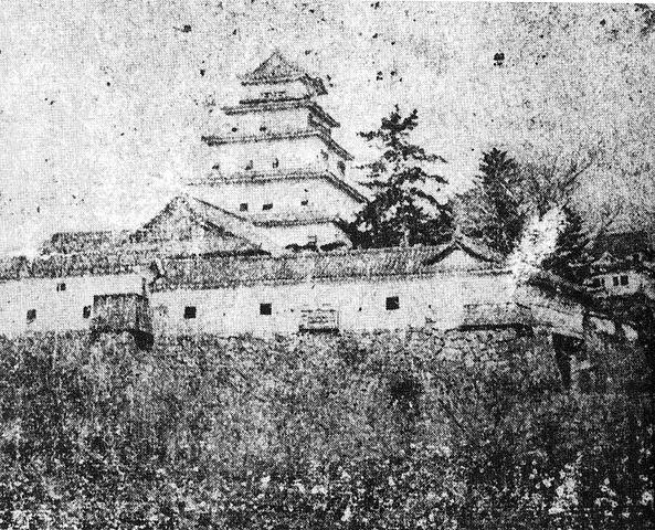 明治時代の丹波亀山城