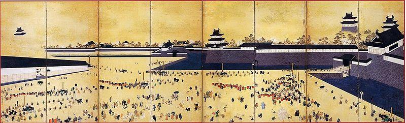 江戸城は新政府軍に明け渡されたあと、一時的に何と呼ばれた?