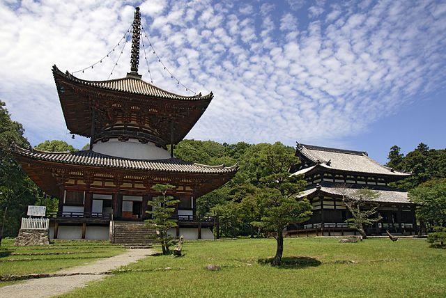 根来寺の大塔と大伝法堂