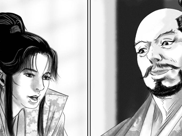 【逸話マンガ】蘭丸のご褒美の話アイキャッチ