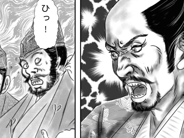 【逸話マンガ】政秀を偲ぶ信長アイキャッチ