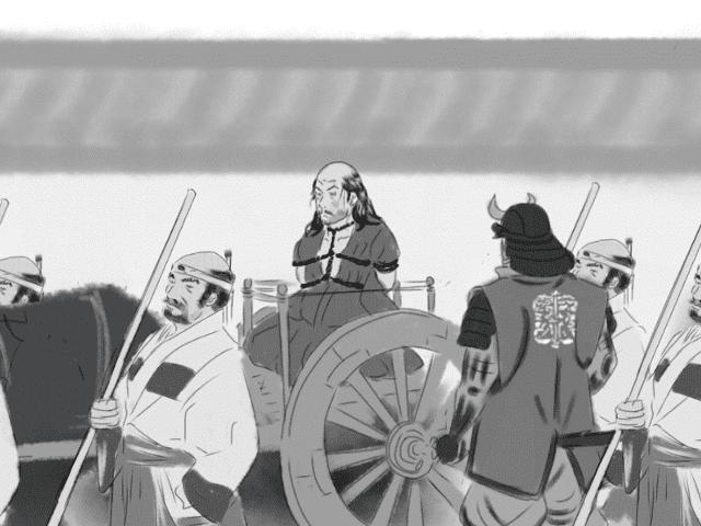 【逸話マンガ】石田三成最期のときアイキャッチ