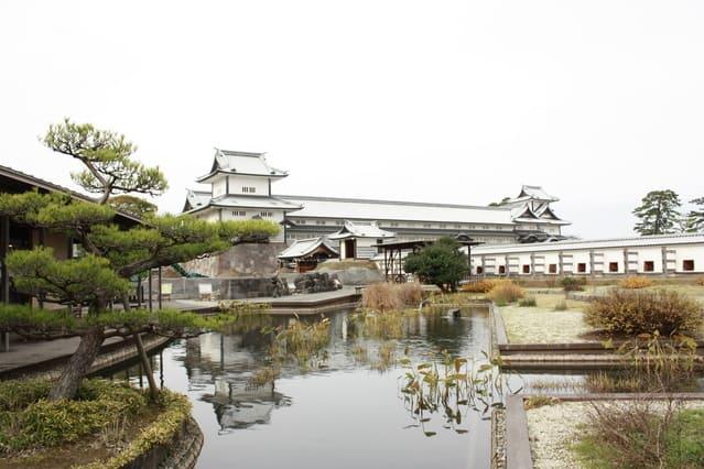金沢城跡の写真