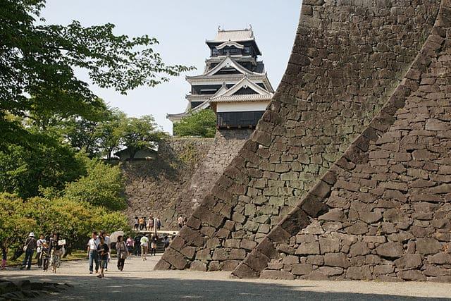 現在の熊本城