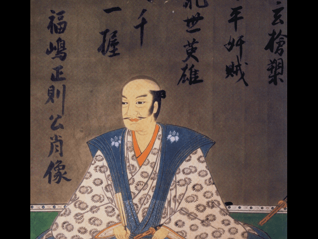 福島正則の肖像画(東京国立博物館所蔵)