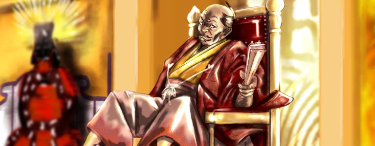 豊臣秀吉のメインビジュアル(スマホ)