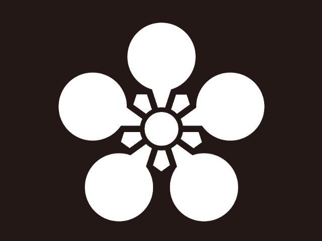 前田利家の家紋「加賀梅鉢」