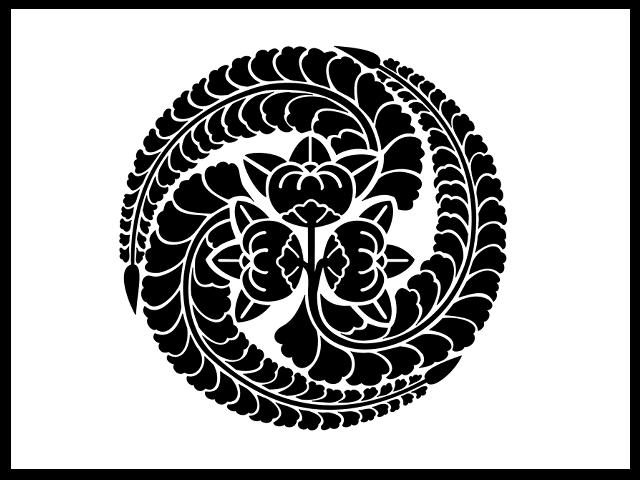 「橘藤巴」の家紋