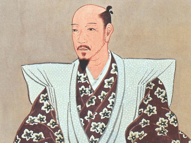 加藤清正の肖像画(京都府勧持院所蔵)