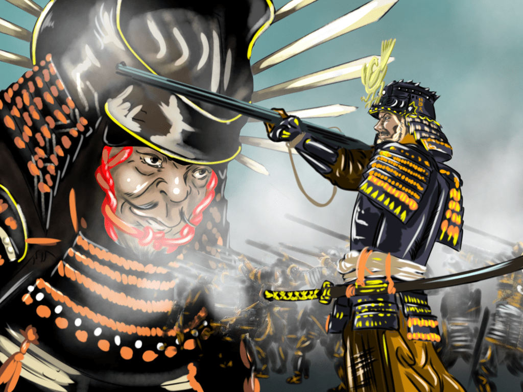 紀州征伐(秀吉)のイラスト
