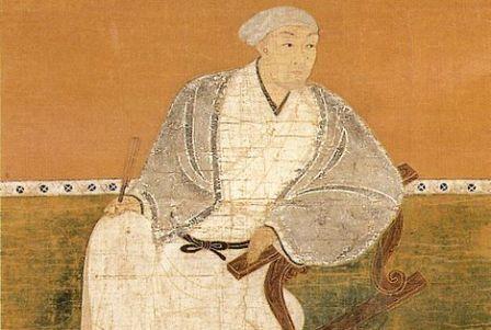 黒田官兵衛の肖像画(崇福寺蔵)