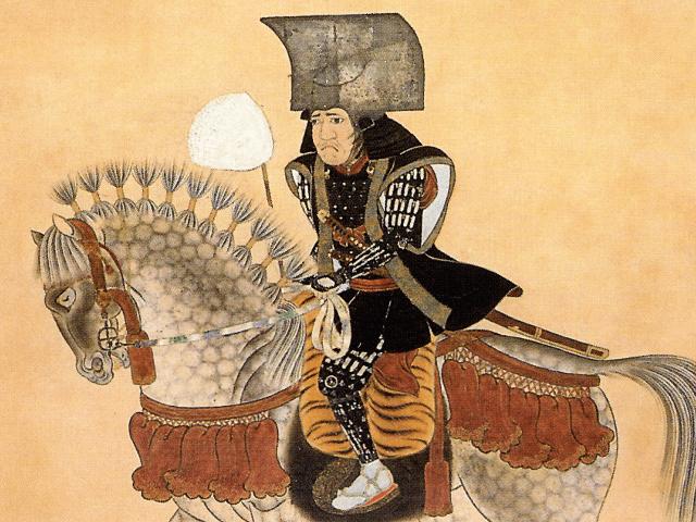 福岡市博物館所蔵の黒田長政の騎馬像