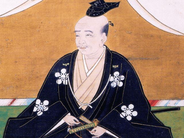 前田利政の肖像画(長齢寺 所蔵)